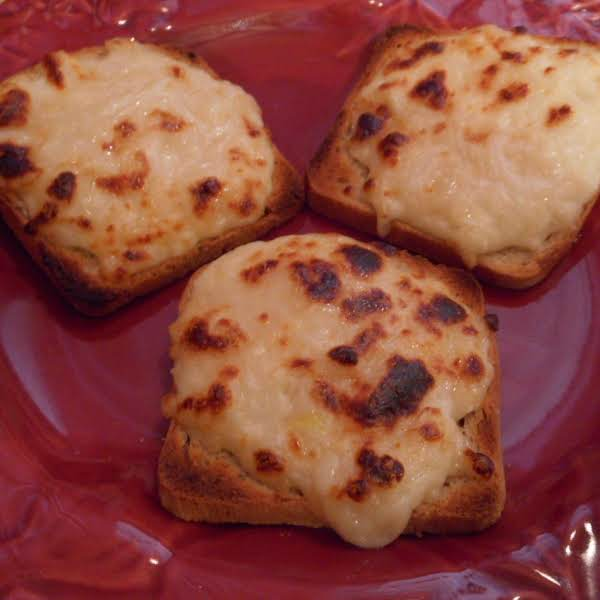Party Cheese Ryes Recipe