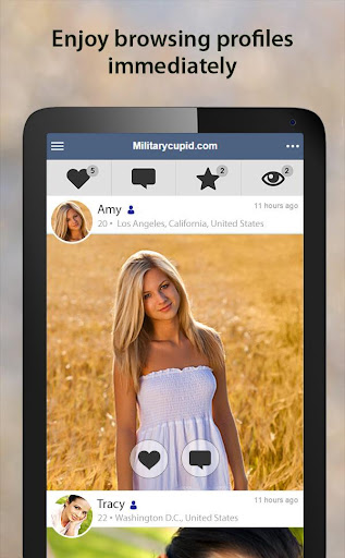 MilitaryCupid - Military Dating App 3.1.4.2376 screenshots 10