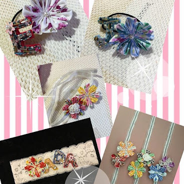 Baby hair band/ 手帶/橡筋~可自選小花及字母 歡迎訂購  #babyhairband #accessories #lovely #cute  #japanstyle #handmade #amaze_maker