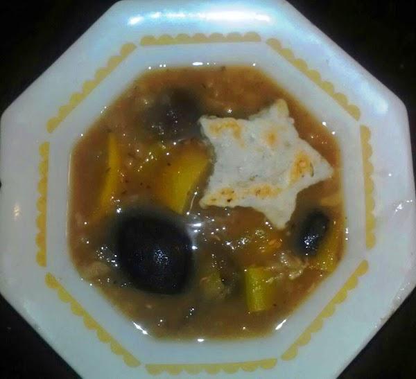 Navy Bean Primavera Soup Recipe