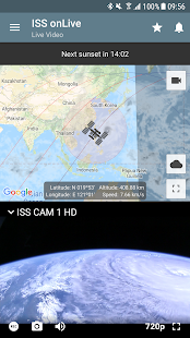 ISS on Live: HD View Earth Live | Chromecast 2