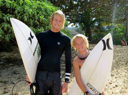 Surfing in Hawaii with John John