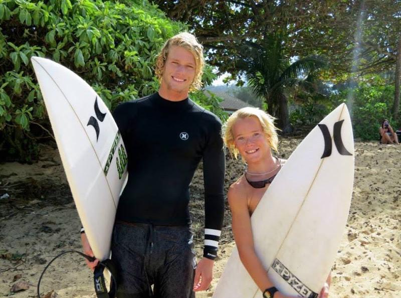 Surfing in Hawaii with John John