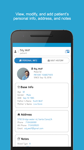 Patient Medical Records & Appointments for Doctors 4.0 screenshots 4