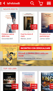 la Feltrinelli mobile- screenshot thumbnail