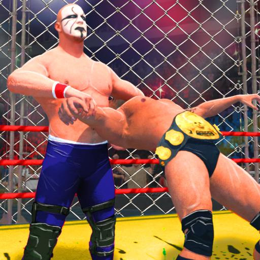 Wrestling Cage Mania - Free Wrestling Games : 2K18 (game)