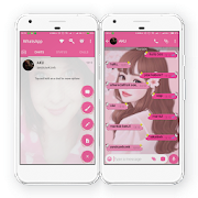 App WA Theme Pink mod cantik APK for Windows Phone