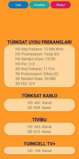 Eba TV Ders Programı screenshot 5