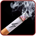 Cigarette Smoking HD Battery icon