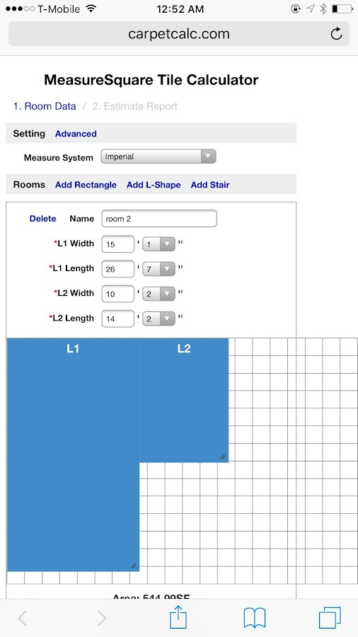 Measuresquare Tile Calculator Android Apps On Google Play