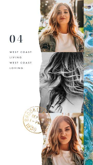West Coast Loving - Facebook Story Template