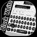 SMS Black White Keyboard icon