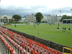 Photo: 30/07/05 v Shamrock Rovers (LoIP) 2-3 - contributed by Christine Morgan