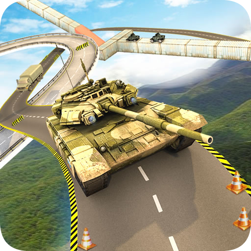 US Tank Stunts On Impossible Tracks -Driving Games
