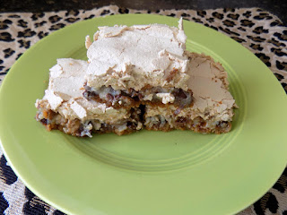 Meringue Topped Magic Cookie Bars Recipe