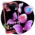 Colorful Butterfly Launcher Theme icon