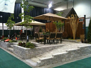 Photo: This project was built for the Make-A-Wish Foundation at the International Home Show, then dismantled and moved, brick by brick, to  the home of Edward, who for his only wish, wanted a way to get outside and enjoy his garden even though he was stuck in a wheelchair.