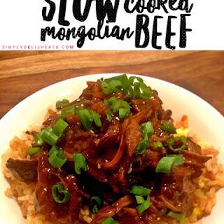 Slow Cooked Mongolian Beef Recipe