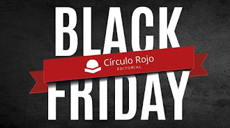 Cartel del Black Friday de Circulo Rojo