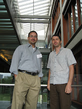 Photo: Rafael and Ed at the 2008 NSF Summer institute