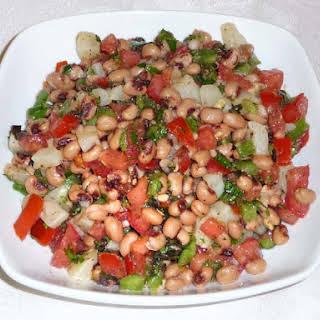 Black Eyed Pea Salad.