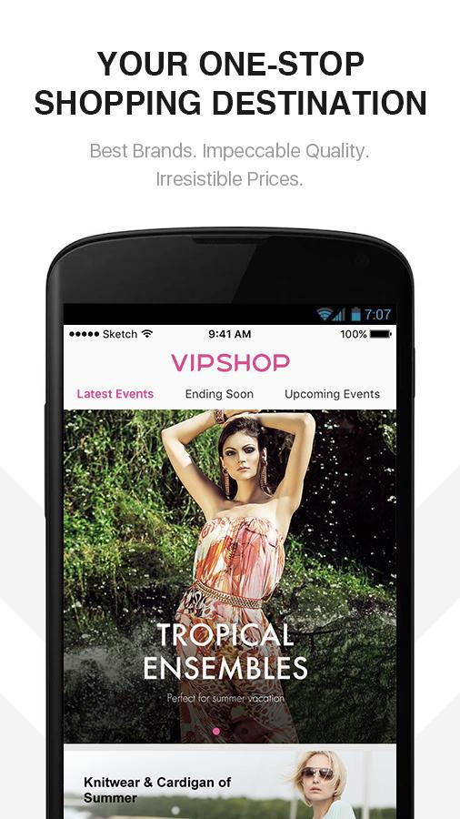 VIPSHOP - Fashion Clothing, Bags & Jewelry- screenshot