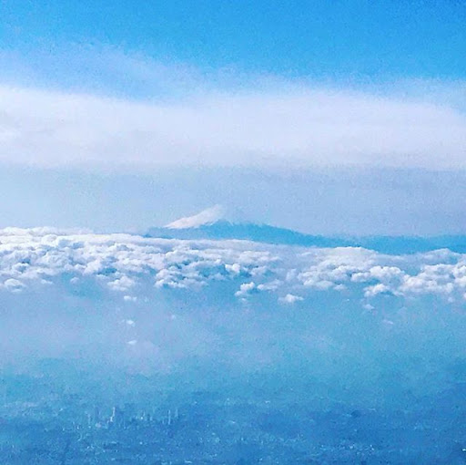 When your foot touches the crest of Fujiyama,...