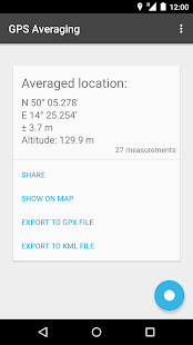 GPS Averaging- screenshot thumbnail