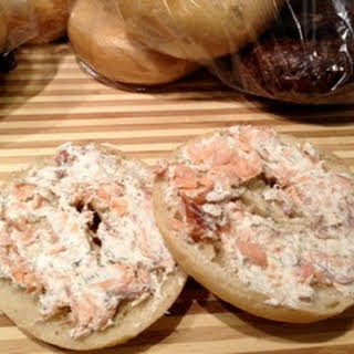 Smoked Salmon & Cream Cheese Spread.