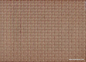 Photo: Royale 19 - SQUARE CO-ORDINATE – CHOCOLATE BROWN (100% Polyester)