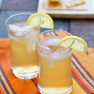 Spicy Ginger Citrus Cocktail.