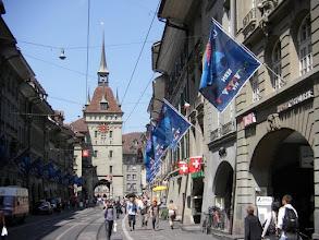 Photo: We bezoeken eerst het oude centrum van Bern.