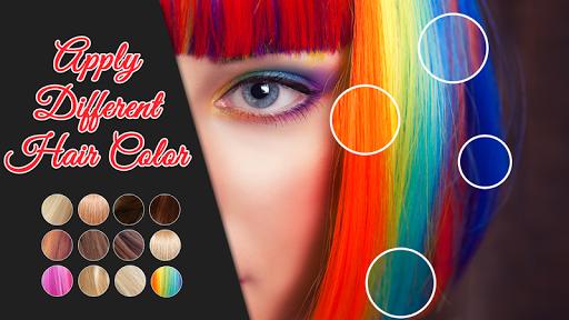 Change Eye and Hair Color