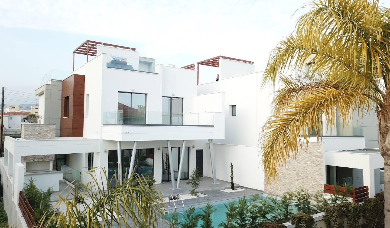 Villa avec piscine et terrasse Ágios Athanásios
