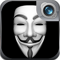 Anonymous Mask Photo Maker Cam icon