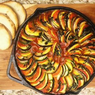 Baked Ratatouille Eggplant Recipes.