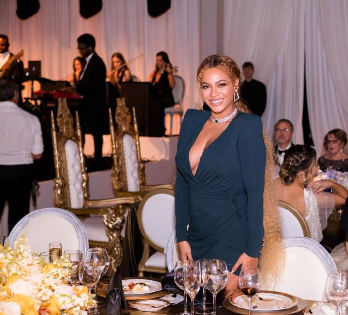 Beyonce Knowles Carter was one of the guests at the star-studded wedding of Serena Williams and Alexis Ohanian.
