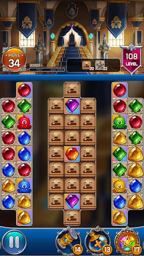 Jewel Royal Castle: Match3 puzzle apkpoly screenshots 2