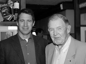 Photo: Ross McIntyre (Pr. 1993-1994) and esteemed father Dalton McIntyre (Pr. 1982-1983)
