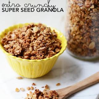 Extra Crunchy Super Seed Granola