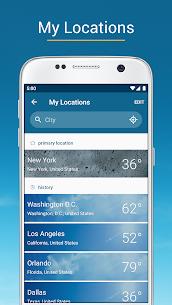 Weather & Radar USA Pro – Storm alerts MOD APK 2021.19.1 (Paid) 3