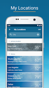 Weather & Radar USA - Storm alerts - ad free Screenshot