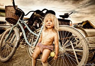 Photo: Pixie Girl of Black Rock Desert, Portrait Series of Burning Man Pilgrims. Copyright: Catherine Hall Studios.
