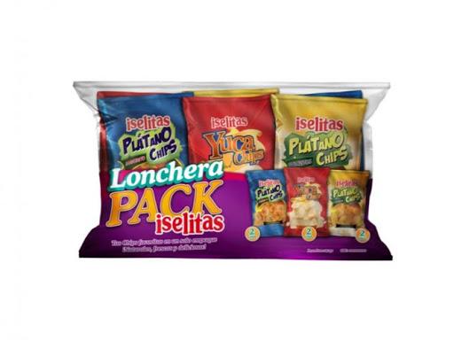 Snack Iselitas Lonchera Pack