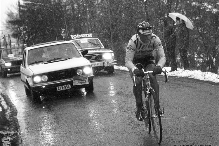 Inmiddels 40 jaar geleden dat Bernard Hinault triomfeerde in legendarische Luik-Bastenaken-Luik