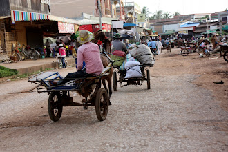 Photo: Year 2 Day 40 - Market in Moung Ruessie #2