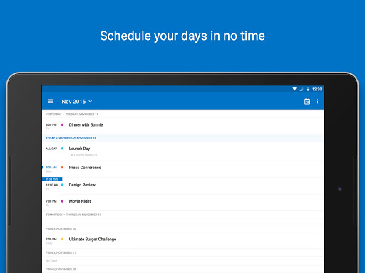 Microsoft Outlook screenshot 11