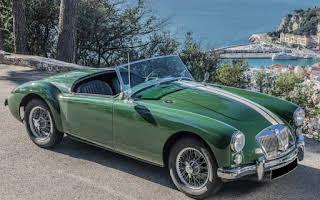 "MG ""A"" roadster Rent Provence-Alpes-Côte d'Azur"