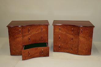 Photo: Paul Sheppard B/S Cabinets - Jarrah, NG Rosewood burl