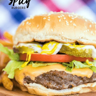 Spicy Burgers Recipe
